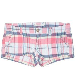 [a47-21] Hollister | plaid shorties